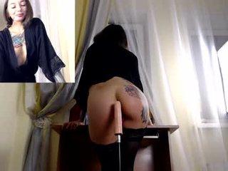 Webcam Belle - tattoorussiangirl cam babe enjoys the best massage in her life