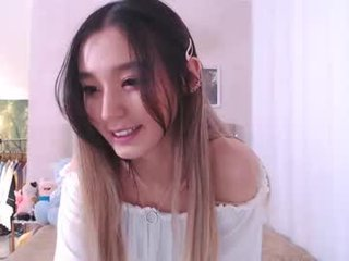 Webcam Belle - sharasuo slim cam babe is glad to offer her cunt for dirty live sex