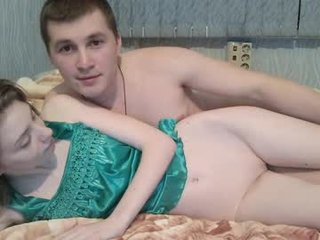 Webcam Belle - logan_emma slim couple shoot amateur POV video of their live sex show