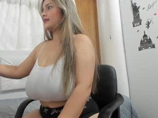 Webcam Belle - lil_zasha cam girl showing big tits and big ass