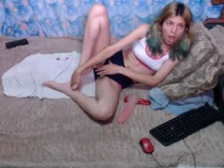 Webcam Belle - laflakita21 kinky cam slut goes for deeper pussy insertions online