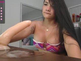 Webcam Belle - danger_abella big tits spanish cam babe loves fucking on camera