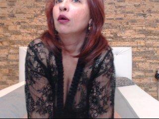 Webcam Belle - pervymonique amateur cam mature with big tits enjoys hot live sex on the camera