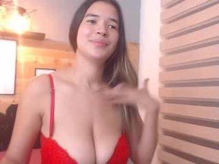 Webcam Belle - _leslie nude big tits cam girl presents oilshow in the chatroom