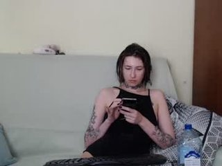 Webcam Belle - freakymalina horny cam girl enjoys dirty anal live sex in exchange for a good mark
