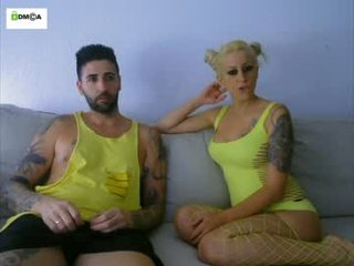 Webcam Belle - yamira_peter85 cam girl with big tits wants gets anal fucked from behind