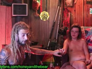 Webcam Belle - honeyand_thebear cam girl will surprise you with her huge gaping asshole