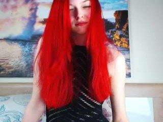 Webcam Belle - hot_wet_lilly redhead cam babe enjoys her loved dildo online