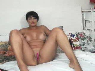 Webcam Belle - playfullangelica cam girl showing big tits and big ass